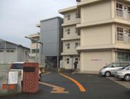 松江市立内中原小学校風景